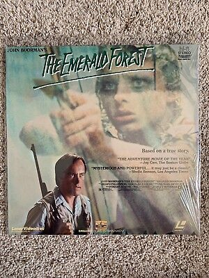 The Emerald Forest Laserdisc - Powers Boothe - RARE - BRAND NEW