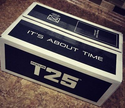 Brand New COMPLETE ALPHA /BETA T25 WORKOUT DVD's SET SEALED BOX..