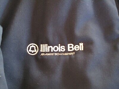Illinois Bell Company Jacket. Size large in new condition. Telephone Installer