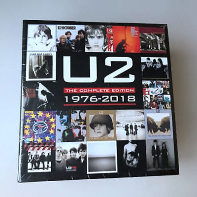 U2 The Complete Edition 1976-2018 Box 22 CD  New Sealed Free Shipping