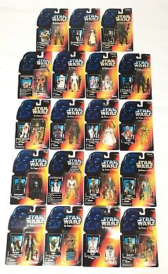 Star Wars The Power of the Force Action Figures - 1995 - Kenner - New & Sealed