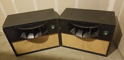 Vintage Altec 9844 A Speakers Voice Of The Theater 811 B Horn Rare