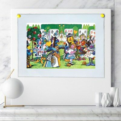alice in wonderland Painting Home Decor HD Canvas Print Wall Art Picture 103070