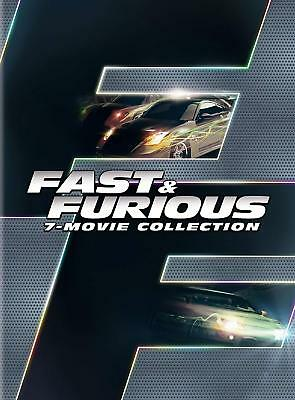 Fast & Furious 7-Movie Collection Fast 1-7 NEW Sealed Box Set Free Shipping