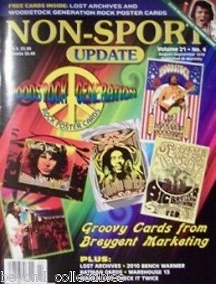 Non-Sport Update - Woodstock - Lost - Benchwarmer - Warhouse 13 Vol 21 #4