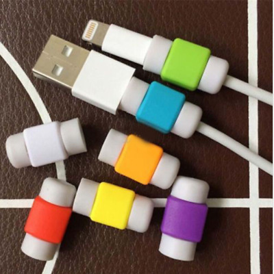 USA~1-10 pcs Charger Cable Saver Protector Apple iPhone Android Universal Power