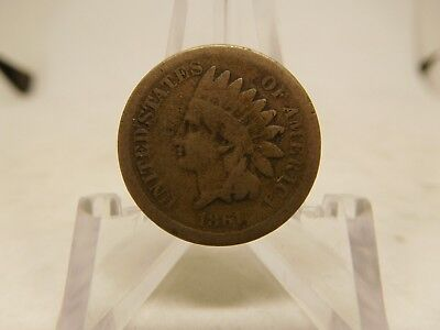 1861 US Indian Head Cent Good