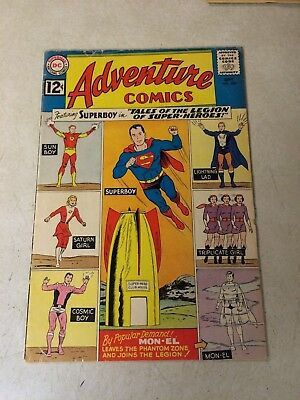 Adventure #300 Key Issue, Superboy, Tales Of Legion Of Super-Heroes, 1962