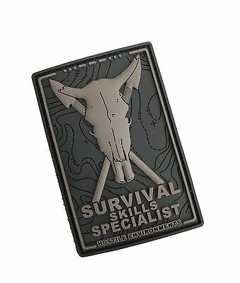 SURVIVAL SKILLS SPECIALIST 3D Rubber MORAL PATCH