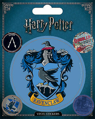 Harry Potter - Ravenclaw - Stickerset Set 5 Sticker Aufkleber - ca. 10x12,5 cm