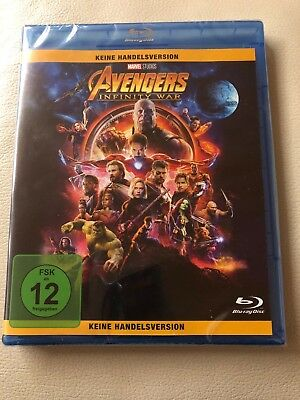 Avengers: Infinity War [Blu-ray] Deutsch