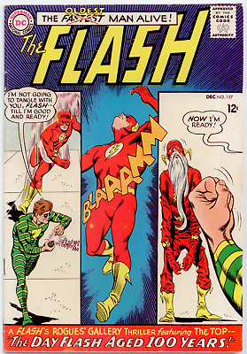 DC Flash #157 (1965) MID-GRADE  The Top