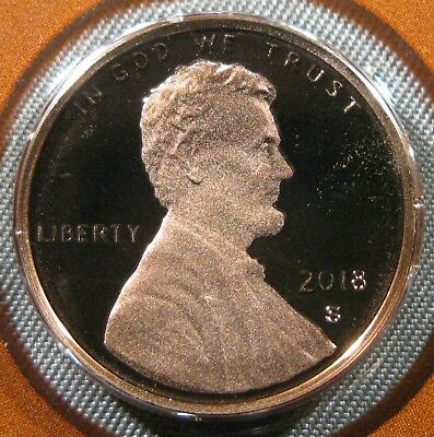 2018-S Lincoln Shield Cent Proof Coin