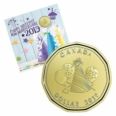 BIRTHDAY GIFT SET – 2019 Uncirculated Coin Set with Limited Edition Loonie