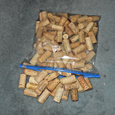 100 Natural Used Wine Corks, no Synthetics or Champagnes