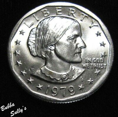 1979 P Susan B Anthony Dollar <> Wide Rim <> UNCIRCULATED