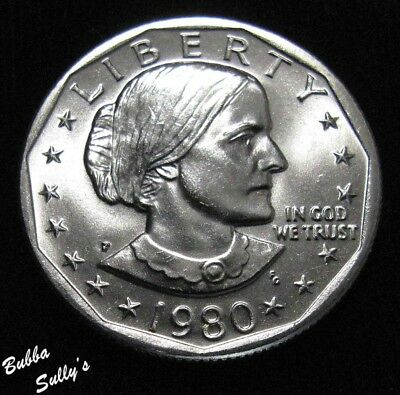 1980 P Susan B Anthony Dollar <> UNCIRCULATED