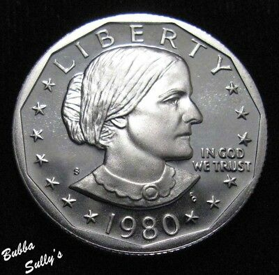 1980 S Susan B Anthony Dollar <> PROOF