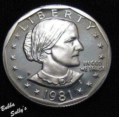 1981 S Type I Susan B Anthony Dollar <> PROOF