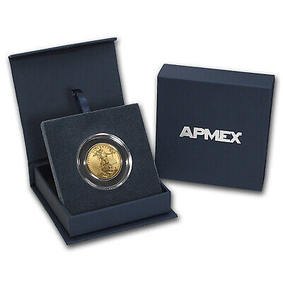 2019 1/2 oz Gold American Eagle BU (w/APMEX Gift Box) - SKU#185244
