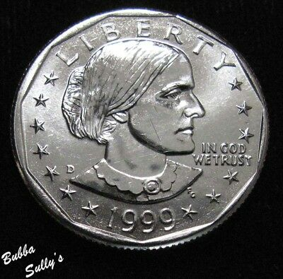 1999 D Susan B Anthony Dollar <> UNCIRCULATED
