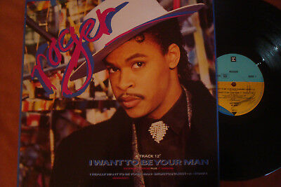 """Roger - I Want To Be Your Man - Extended - 12"""" Maxi !!!"""