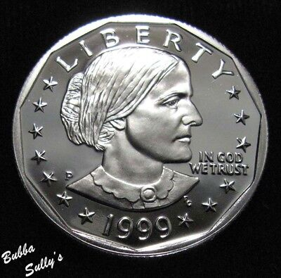 1999 P Susan B Anthony Dollar <> PROOF