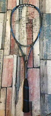 Dunlop Biomimetic Pro Hm6 Carbon Squash Racket - Used Once - Broken Strings