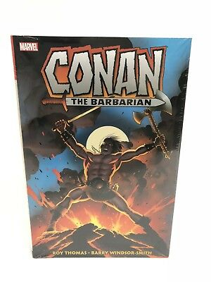 Conan The Barbarian Omnibus Volume 1 Marvel HC Hard Cover Brand New Sealed $125