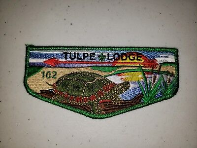 Boy Scout OA Tulpe Lodge 102 S1 First Flap