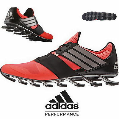 new style cde70 6d5d0 Adidas Springblade Solyce Red Black Mens Running Shoes AF6801 NEW All Sizes