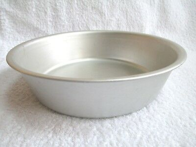 "WEAR-EVER Aluminum Heavy Duty 9"" BAKING PAN Made USA No 802 Round Cake Pie Deep"