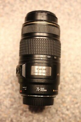 Canon EF 75-300mm 1:4-5.6 IS USM Lens for Canon EOS 5D, 70D DSLR camera (issue)