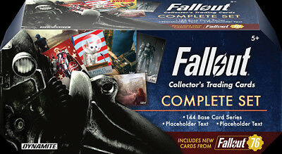 Fallout Trading Cards Complete Set With Bonus Cards