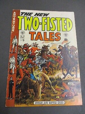 Two-Fisted Tales # 37  1954  Ec   Golden Age 4.0 - 4.5  War