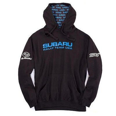 Subaru Rally Hooded Hoodie Sweatshirt Sti Official Genuine WRX NEW Racing JDM !!
