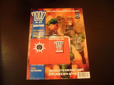 2000ad PROG 780- WITH FREE GIFT ATTACHED(VERY RARE)