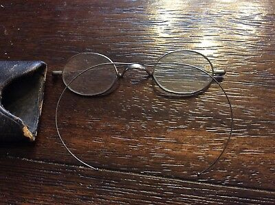 Vintage Eyeglasses-Ben Franklin Style w/Case from Optician Iowa