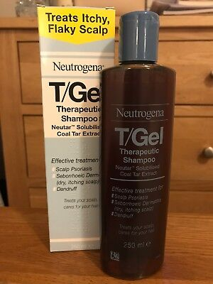 Neutrogena T/Gel Therapeutic Shampoo 250ml New Unused In Box