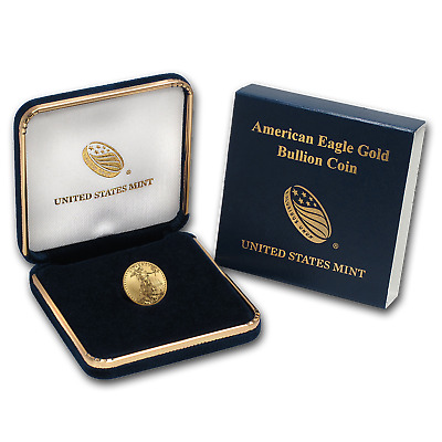 2019 1/10 oz Gold American Eagle BU (w/U.S. Mint Box) - SKU#185239