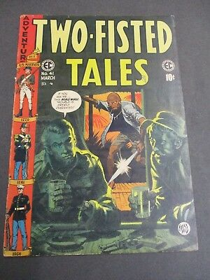 Two-Fisted Tales # 41     1955       Ec   Golden Age  4.0 - 4.5    War