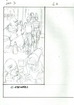 Carlos Ezquerra  Judge dredd creator 2000ad Illustration Judge anderson