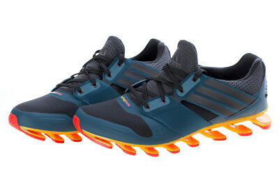 timeless design 0042f 16496 Adidas Springblade Solyce Blue Orange Mens Running Shoes AQ5240 NEW All  Sizes