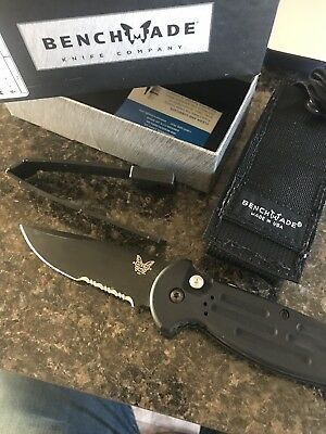 Benchmade 9051 SBK AFO II Tactical Knife - Used