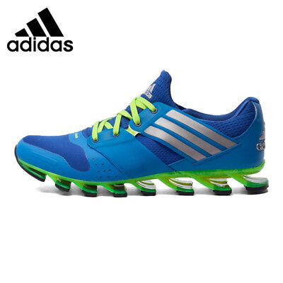 online retailer e0018 ffddc Adidas Springblade Solyce Blue Green Mens Running Shoes AQ5242 Size 10.5
