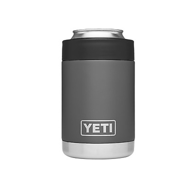 Authentic YETI Rambler COLSTER 12oz *CHARCOAL*NEW!!
