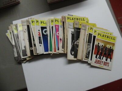 Vintage Broadway Theatre Playbill Lot of 60 Vintage King and I Newsies Rent More