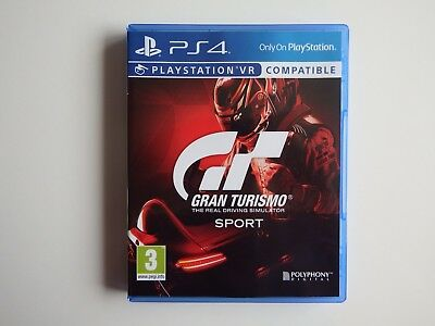 Gran Turismo Sport on PS4 in MINT Condition