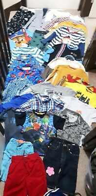 Huge Bundle Of Boys Clothes 5-6years #603 MINOTI GEORGE NEXT SPIDERMAN LEGO STAR