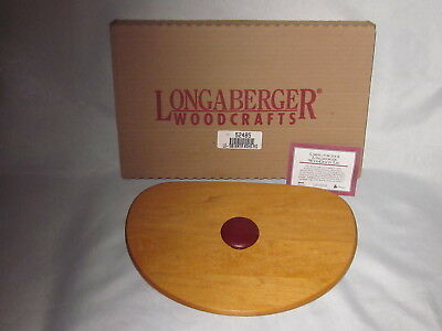 Longaberger 1998 Holiday Hostess WINTER WISHES WoodCrafts LID ONLY w/ Card NIB